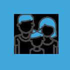 Ícone de uma família