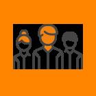 Ícone de Servidores Públicos