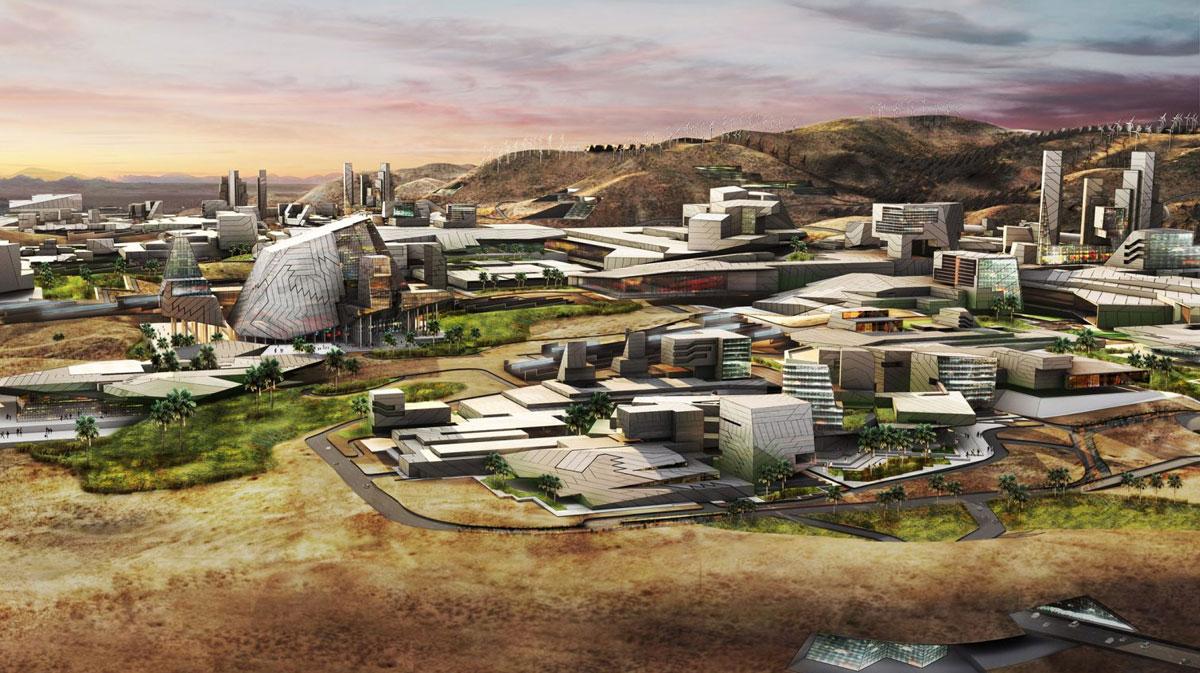 Innovation Park: Uma cidade inteligente no meio do deserto