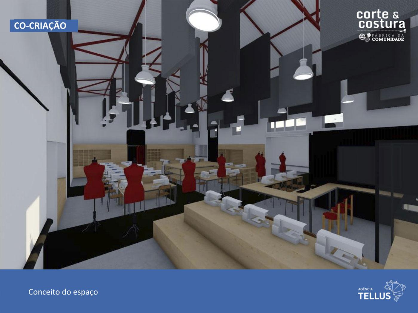 Corte & Costura - Fábrica da Comunidade: Capacitação profissional em Cubatão