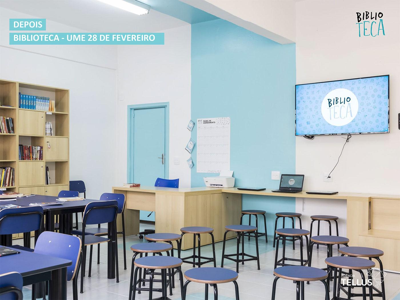 Projeto Biblioteca: Como equipar com novas tecnologias as bibliotecas de escolas municipais de Santos